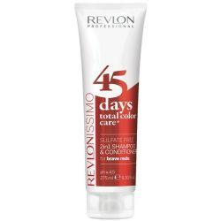 45 DAYS REVLON BRAVE REDS...